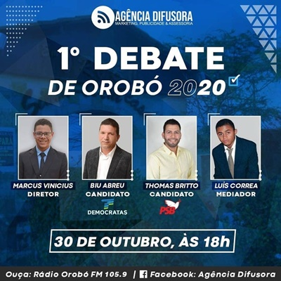 Agência Difusora promove o evento através do Facebook e também na Rádio Orobó FM 105.9