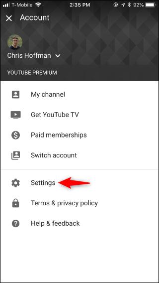 كيفية تفعيل الوضع المظلم في يوتيوب