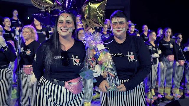 sargorias%2Bdirectoras - Fuerteventura.- Las Sargoriás abrieron el Carnaval de Carnavales de La Oliva celebrando con el público de casa su 15º Aniversario