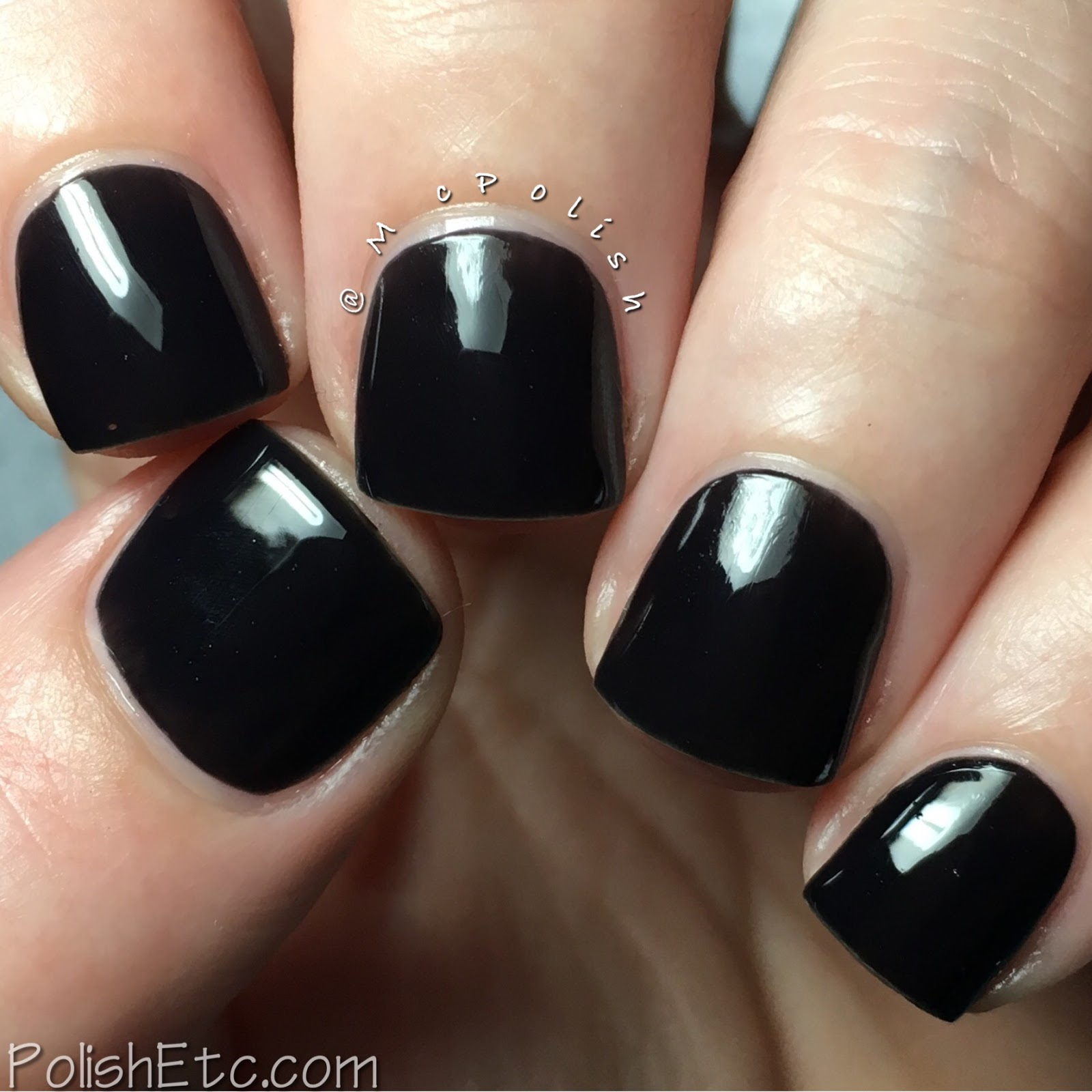 Kiara Sky Nail Lacquer - McPolish - Black to Black