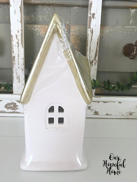 gold roof porcelain house
