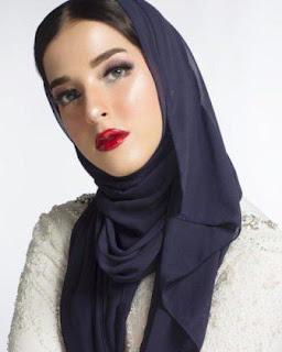 foto Tasya Farasya pake jilbab hijab kerudung