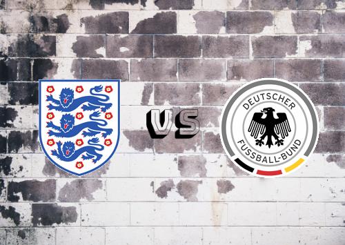 Inglaterra vs Alemania  Resumen y Partido Completo