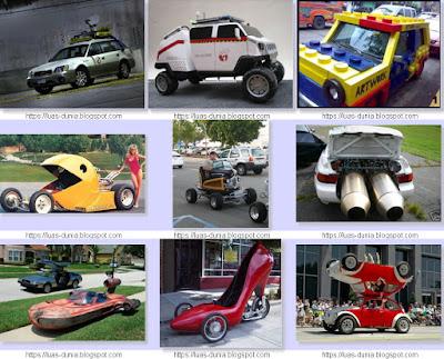 Modifikasi Mobil Paling Aneh Unik Lucu