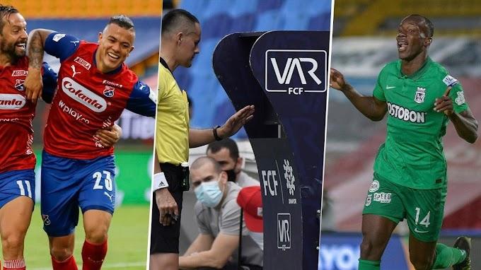 Bajo observación: Partidos de Atlético Nacional e Independiente Medellín, por la segunda fecha de la Liga BetPlay 2 2021, tendrán VAR