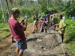 Masyarakat Koto Padang Berswadaya Bangun Ruas Jalan Kabupaten Padang Pariaman