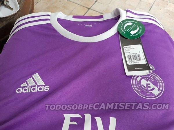 ac7d10bace8d4 Camisas do Real Madrid para a temporada 2016-17