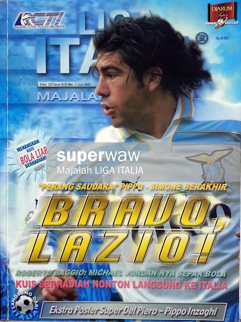 Majalah LIGA ITALIA: BRAVO LAZIO!