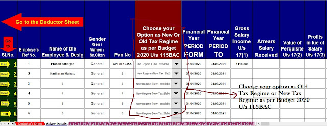 Income Tax Revised Form 16 for the F.Y.2020-21