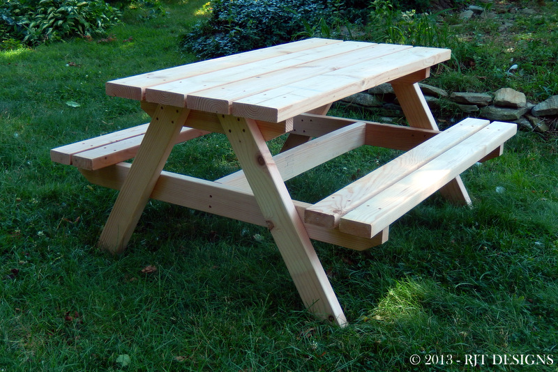 Bepa S Garden New Plans A Child S Picnic Table