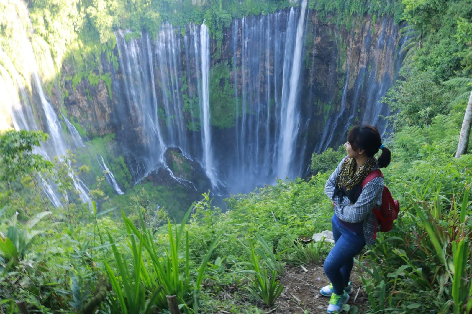 Warna Hidup Tashya Penasaran Kemegahan Air Terjun Niagara Indonesia Ayok Ke Air Terjun Tumpak Sewu Lumajang Jawa Timur