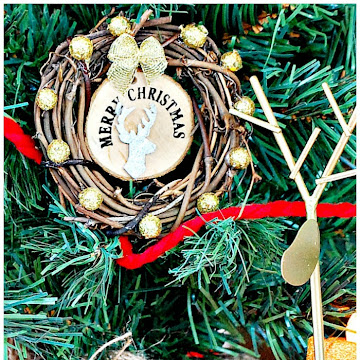 How To Make Easy Christmas Wreath Ornaments