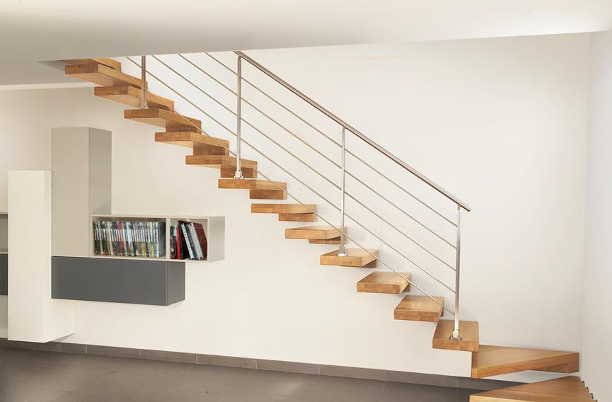 Contoh Desain Tangga Rumah Minimalis Terbaru Untuk Ruangan Kecil Yang Minimalis