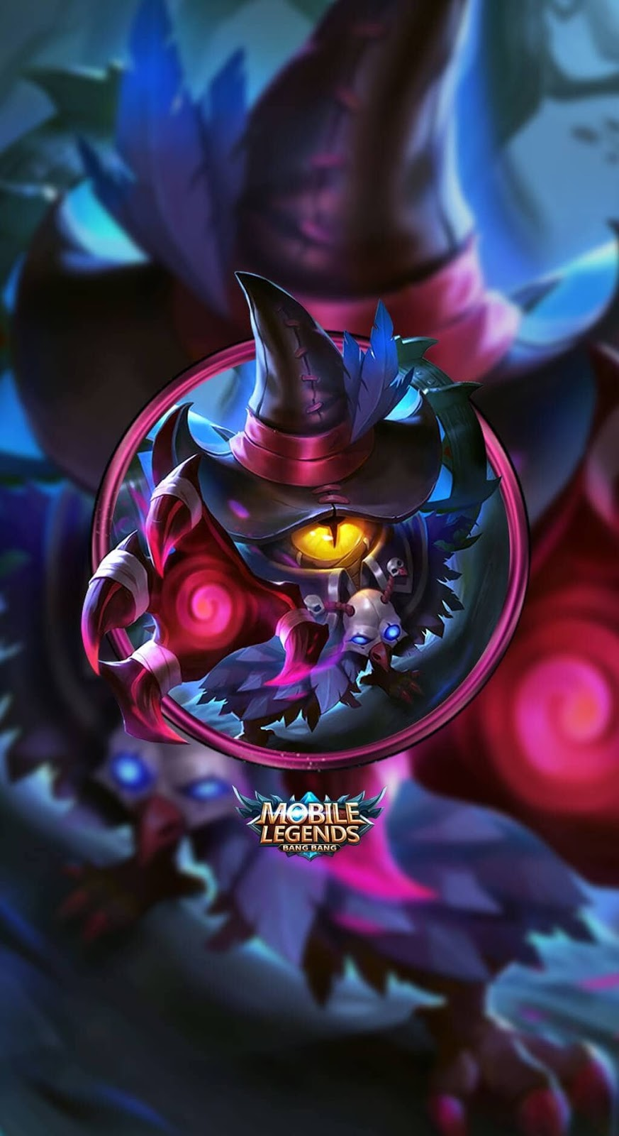 Wallpaper Cyclops Exorcist Skin Mobile Legends HD for Mobile
