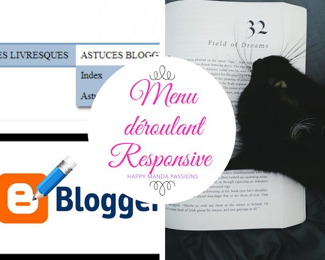 Tuto : Un menu déroulant pour Blog/Blogger