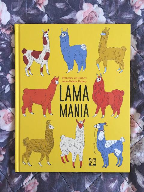 """Recenzje #202 - """"Lamamania"""" - okładka książki - Francuski przy kawie"""