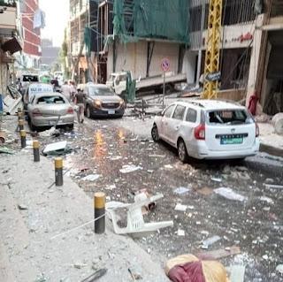 Causa de la explosión en Beirut: 2,750 toneladas de nitrato de amonio que estaban almacenadas en una bodega del puerto del Líbano