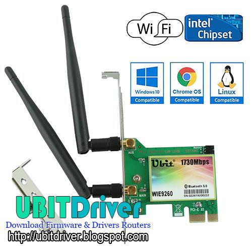 Ubit Driver WIE9260 Gigabit PCI-E 2030Mbps WiFi Card