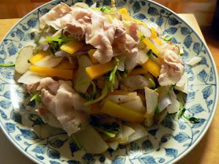 サラダレシピ 菊芋