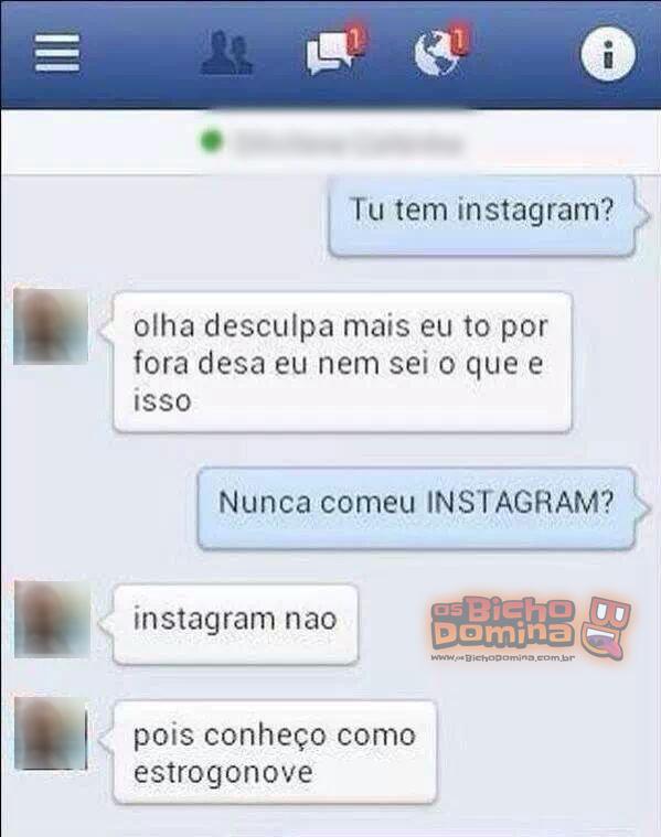 instagram deve tipo biscoito neh