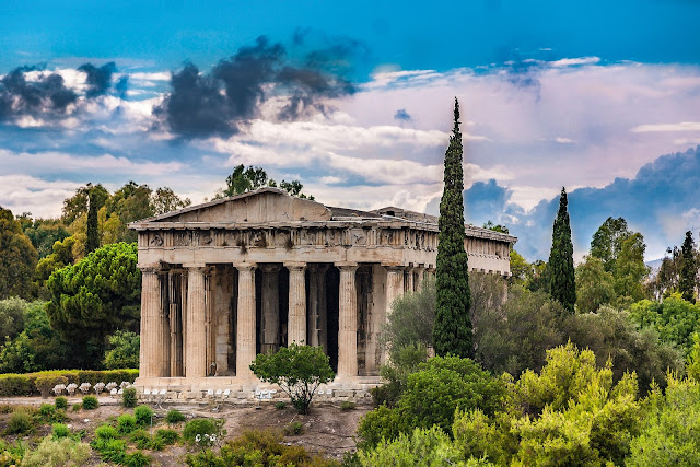 The Ancient Agora and the Temple of Hephaestus