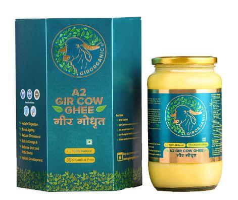 GirOrganic A2 Pure Ghee | 100% Desi Gir Cow
