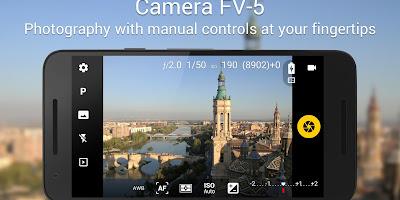 Tutorial Membuat Kamera Android Seperti DSLR dengan Aplikasi Camera FV-5 Lite