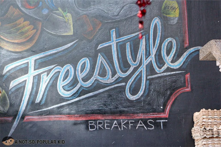 Freestyle Breakfast in Makati