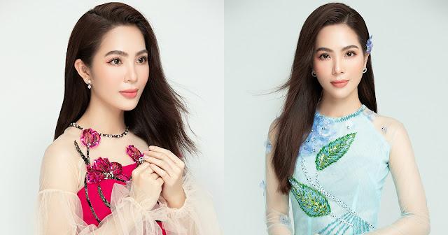 Dương Kim Ánh trong trẻo, thanh lịch trong bộ ảnh áo dài chào mừng 20/11