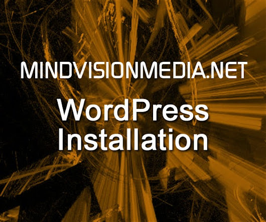 MVM WordPress Installation