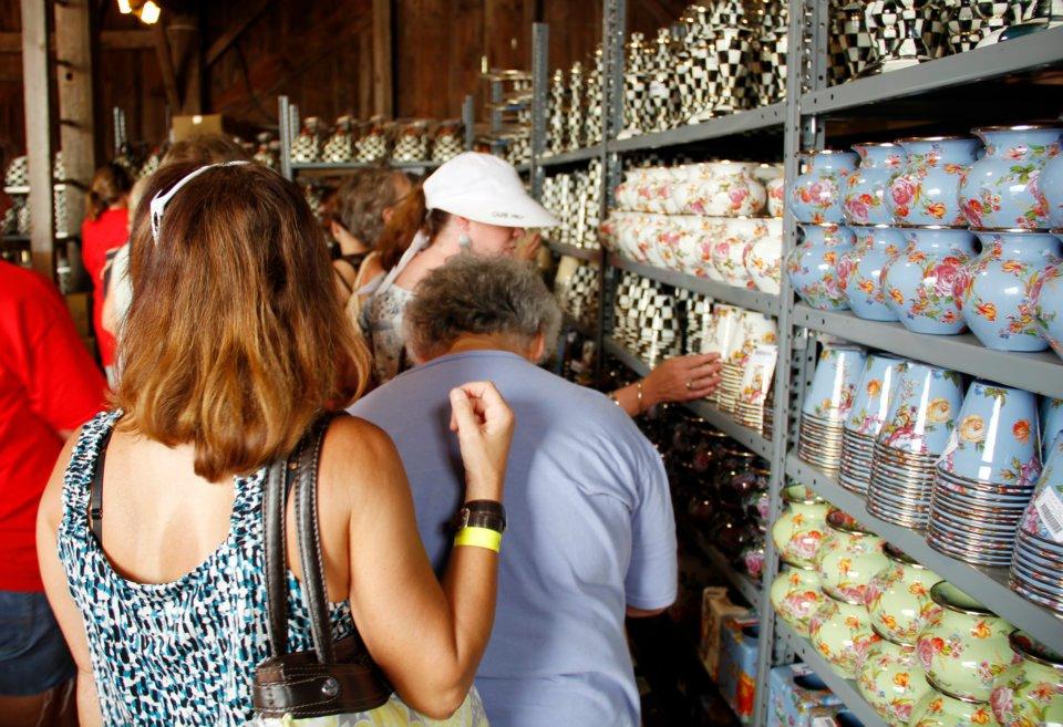 Mackenzie Childs Barn Sale 2012 Mountain Breaths