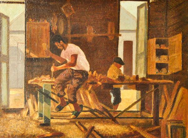 El Carpintero, Yoryi Morel, 1922