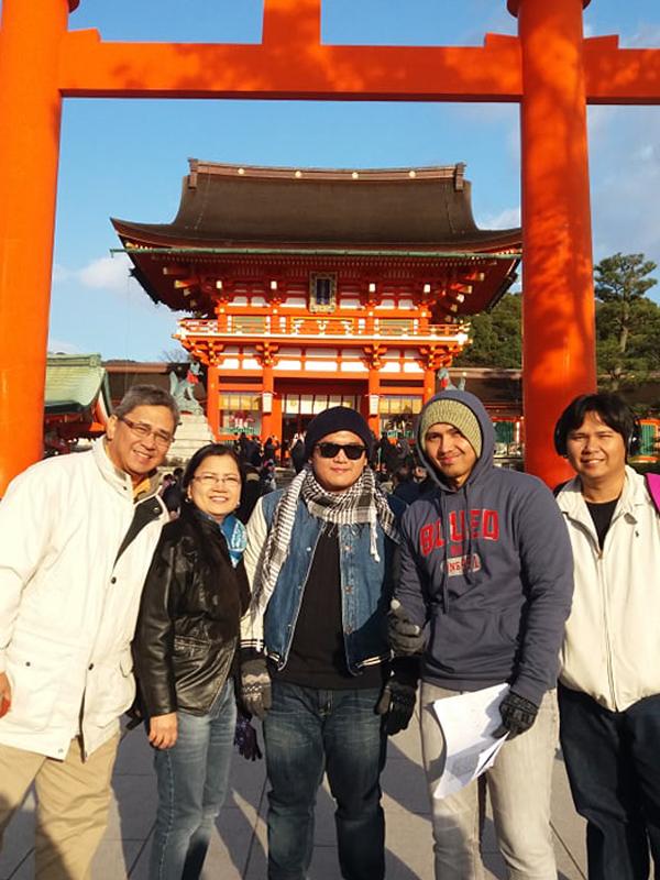 Fushimi Inari shrine entrance