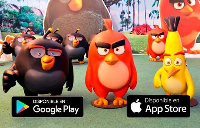 mejores juegos angry birds sin internet