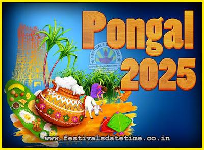 2025 Pongal Festival Date & Time, 2025 Thai Pongal Calendar