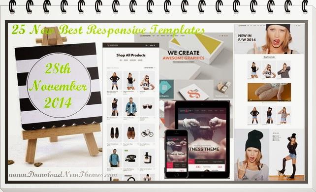 25 Premium Responsive Templates