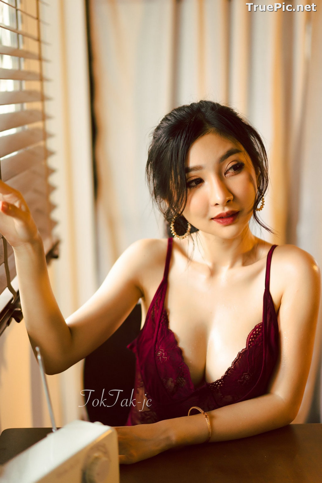 Image Thailand Model - Pattamaporn Keawkum - Red Plum Lingerie - TruePic.net - Picture-2