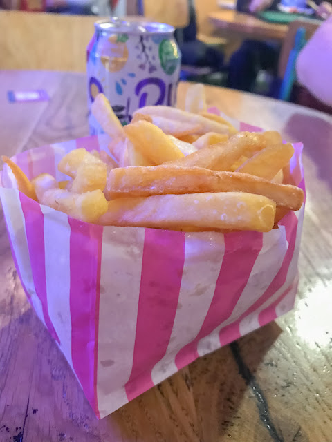 Original Fry Up twice baked chips in paper bag