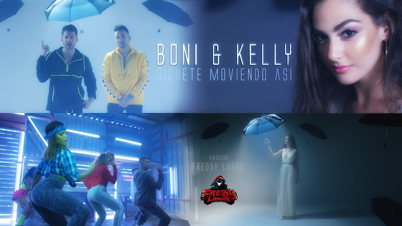 Boni y Kelly (BNK) - ¨Síguete moviendo así¨ - Videoclip - Director: Freddy Loons. Portal Del Vídeo Clip Cubano