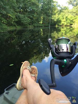 Fall fishing smallmouth bass