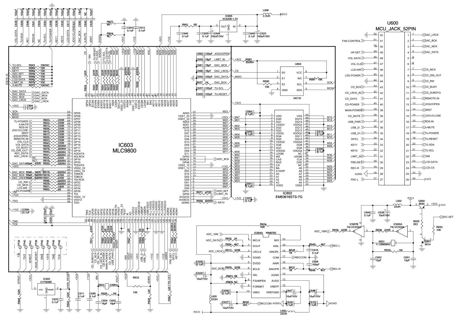 lg xa66  u2013 circuit diagram
