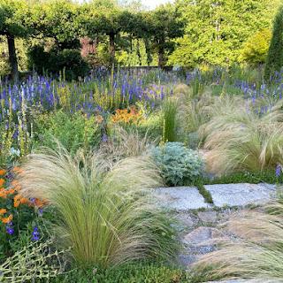 Plantas resistentes a la sequía en el jardín de grava de Chanticleer