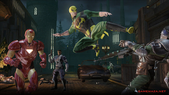 Marvel Ultimate Aliance 2 Gameplay Screenshot 4