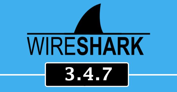 Wireshark 3.4.7