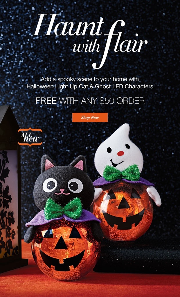 Free Avon Halloween Decor with Purchase