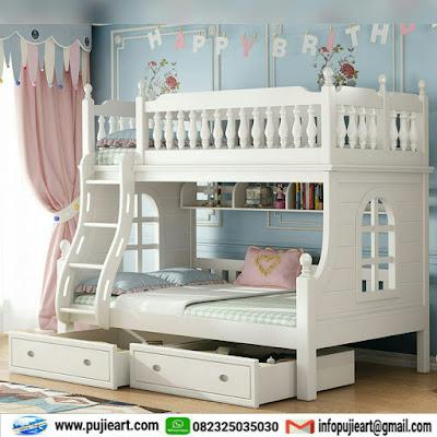 Desain kamar tidur tingkat sederhana