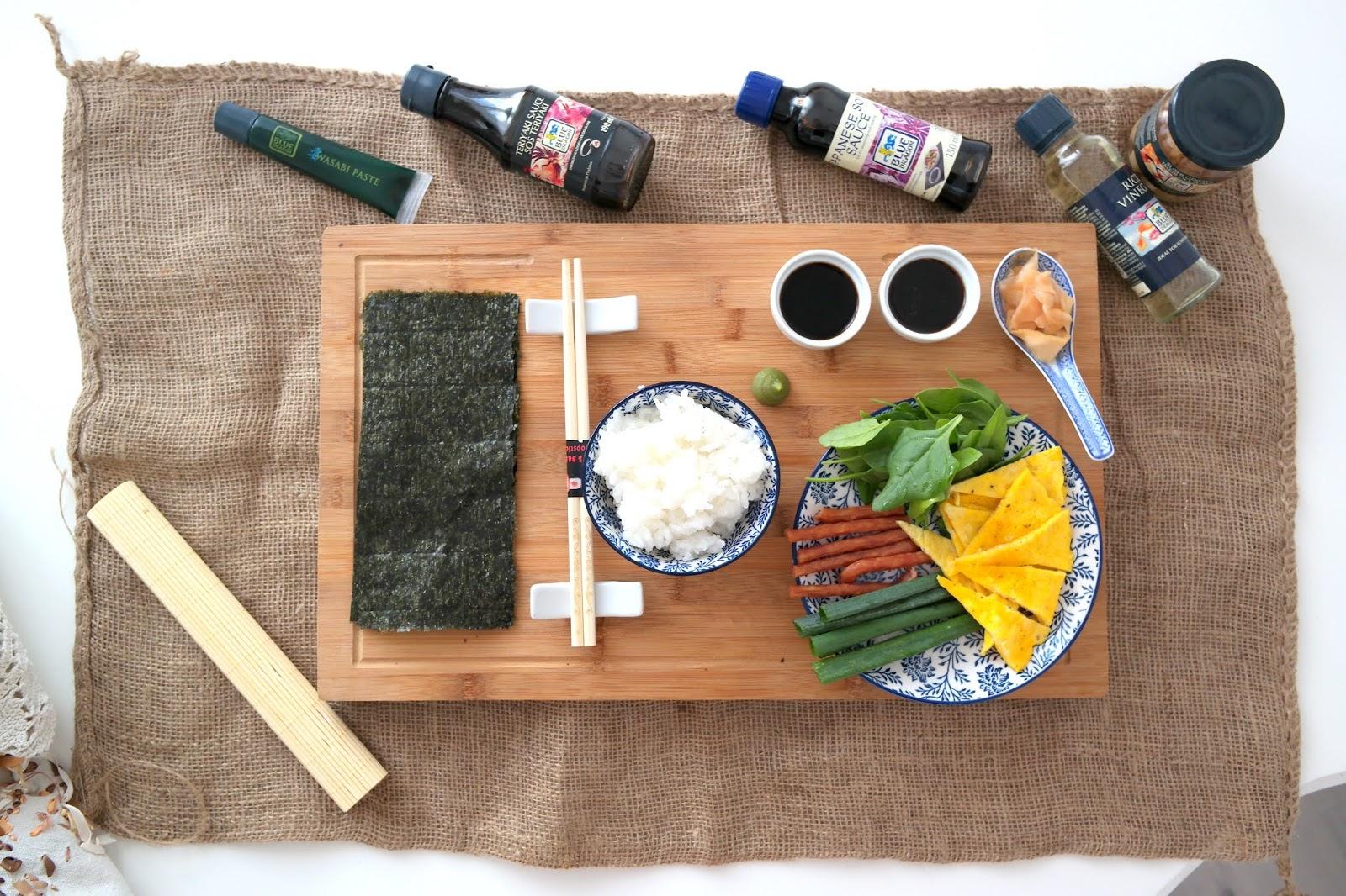 z czym zawijać sushi