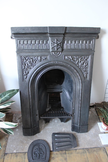 Victorian Fireplace Fully Restored