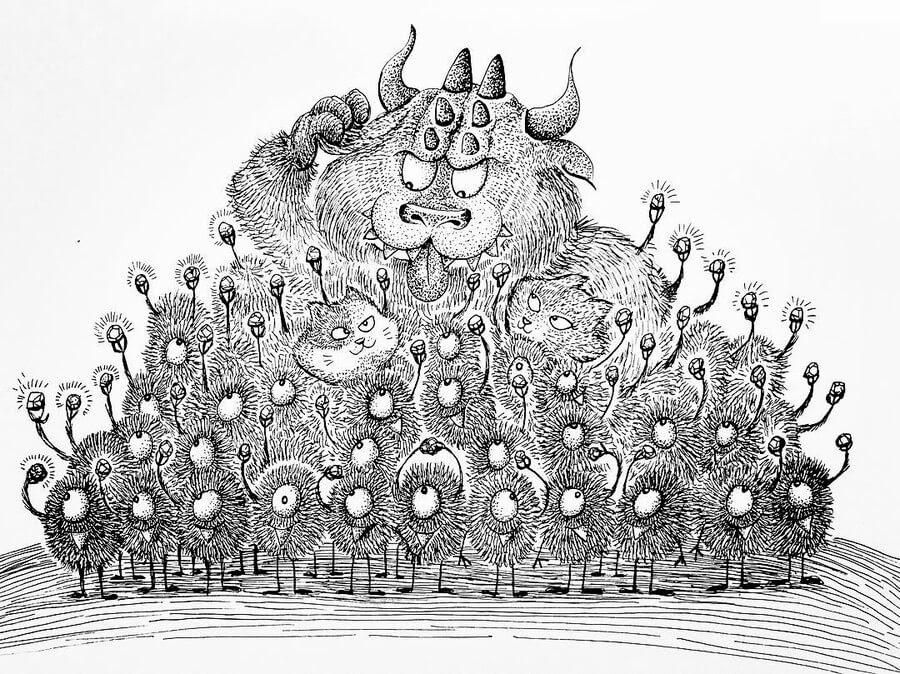14-Good-friends-are-gold-Rex-Lee-Little-Creatures-www-designstack-co