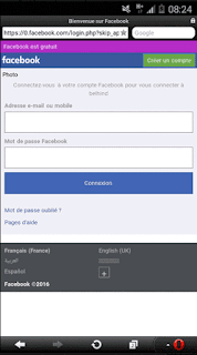 facebook free opera mini